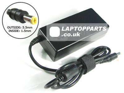 AC2 - AC Power Adapter for Acer - AcerNote - 374 Laptop (3.42A, 5.5x1.5Tip, 19Volts, 65W)